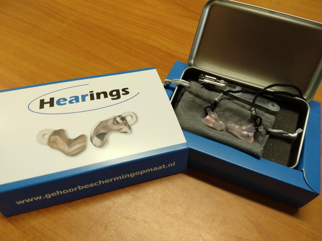 Aanmeten otoplastieken Hearings